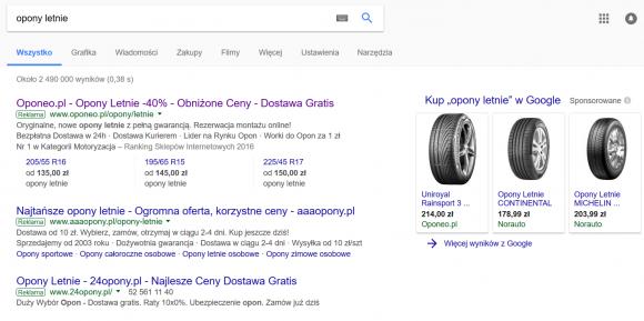 przykład google merchant